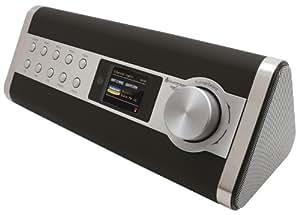 Soundmaster IR3000DAB Internetradio DAB+ UKW Radio Netzwerkplayer (uPnP) LAN WiFi Fernbedienung AUX-IN