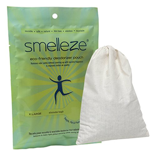 SMELLEZE Reusable Farbe Geruch -Remover-Mittel -Beutel : Ruft Fumes Out Ohne Duftstoffe in 150 Sq . Ft. (Malen Corp)