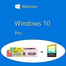 Windows 10 Pro OEM FQC-08913 Etiqueta adhesiva del producto + paquete olográfico COA
