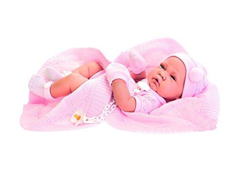 Antonio Juan Puppe Baby Reborn Große Babypuppe Babypuppe Mädchen Zoe 42cm