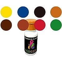 Tinte, tinte al agua, colorante, colorante ecológico, tinte ecológico, mejor colorante para pinturas con base de agua, colorante pintura pared, colorante pintura, TINTES PACK ECOCCEL, 8 de 0,05 Lt (0,05 lt)