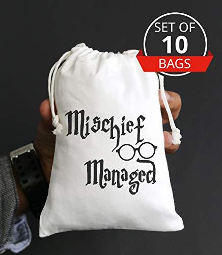 Harry Potter Bachelorette Party Geburtstag Gastgeschenk Tasche Bachelorette Party Survival Kit - Set von 10 Tüten - Kordelzug Stamm