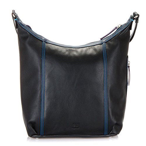 Mywalit Leder Hobo Tasche Seattle Collection 1981 Black Pace