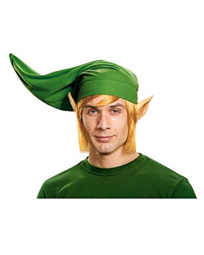 f Zelda Link Mütze, Ohren & Perücke als Kostümzubehör & Cosplay (Zelda Link Perücke Für Erwachsene)