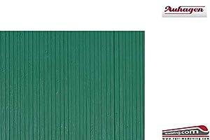 Auhagen 52419Pared tablones Verde único de Modelado Kit