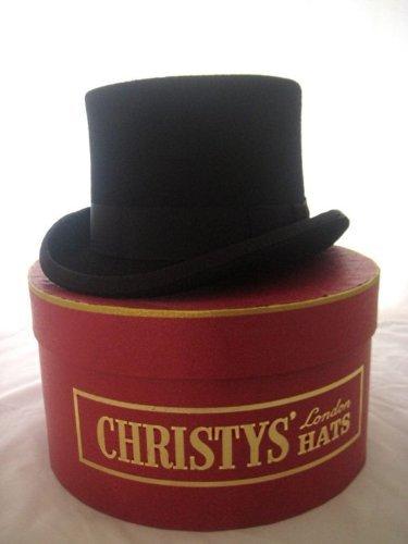 Christys of London Chapeau Haut-de-forme et Boîte Chapeau
