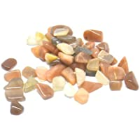 Cristalli di pietra di luna, piccoli, proprietà curative, di alta qualità, in sacchetti da 20 (Healing Gemma Di Cristallo)