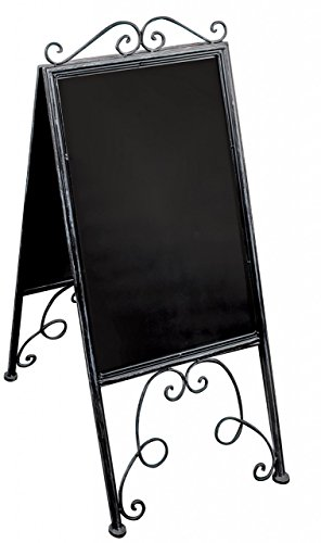 ornate-a-frame-style-standing-blackboard-metal-frame-interior-or-exterior