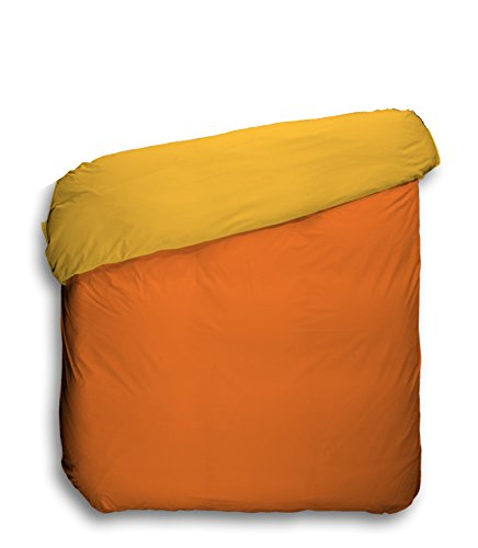 play-basic-collection-duvet-cover-smooth-reversible-orange-khaki-220-x-220-cm-naranja-caqui