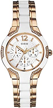 Guess Sport Watch for Women, Stainless Steel, Analog - W0556L3