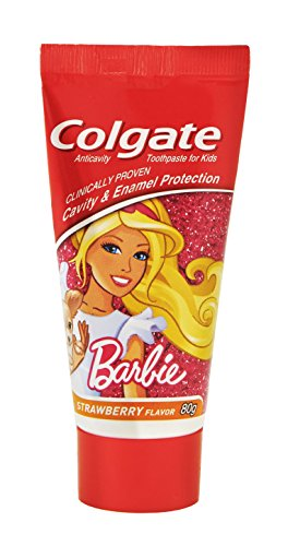 Colgate Toothpaste Kids Barbie Strawberry Flavor - 80 g (Children)
