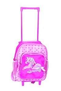 Great Gizmos Pink Poppy Pretty Pony Bolsa con Ruedas