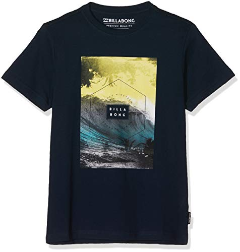 BILLABONG Jungen Kurzarm-T-Shirt Section SS, Navy, 12, N2SS03 BIP9 21 -