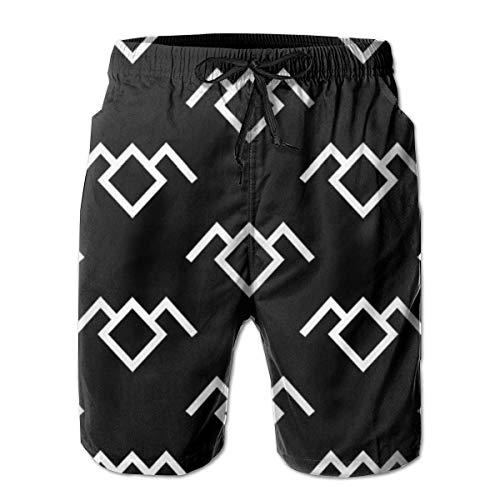 KLING Shorts baño Hombre Pantalones Cortos Twin Peaks