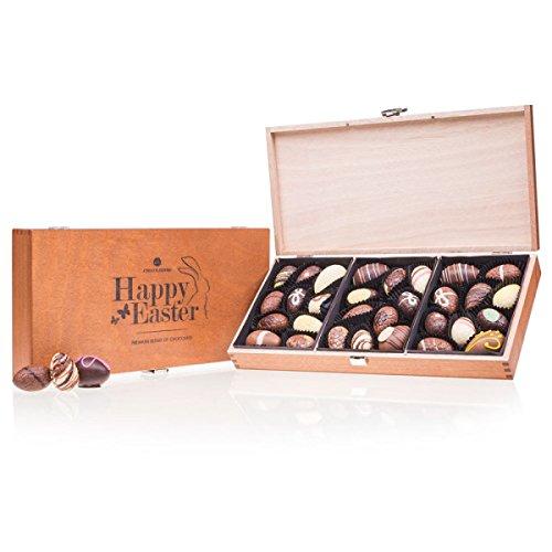 Egg Prestige - 30 gefüllte Schokoladen-Ostereier, Ostergeschenk, Ostern Schokolade, Schokoladeneier