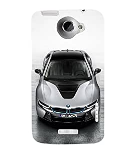 EPICCASE sexy bmw Mobile Back Case Cover For HTC One X (Designer Case)