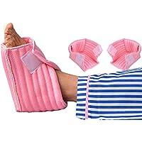 Cojines De Espuma Para El Talón Protector De Tobillo De Lujo 1 Par A La Izquierda Y A La Derecha, Calce Tamaño Ancho 4.5 Pulgadas De Largo 6.6 Pulgadas De Alto 3.9 Pulgadas,Pink,4.5Inx6.6Inx3.9In