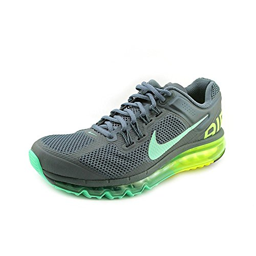 WMNS Air Max 2013 ARMORY SLATE / Green Glow-VOLT Grey