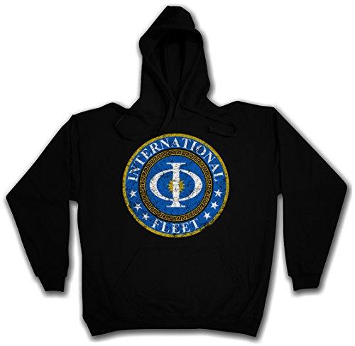 Urban Backwoods Vintage International Fleet Logo T-Shirt - Ender´s Orson Scott Card Game T-Shirt Sizes S - 2XL