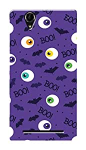 HACHI Premium Printed Cool Case Mobile Cover for Sony Xperia T2 Ultra