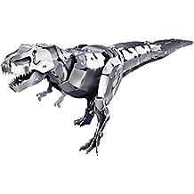 Tronico 20037 - Metallbaukasten Dinosaurier Tyrannosaurus Rex, Aluminium, 72-teilig