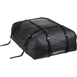 AmazonBasics Coffre de toit souple, Noir, 425 l
