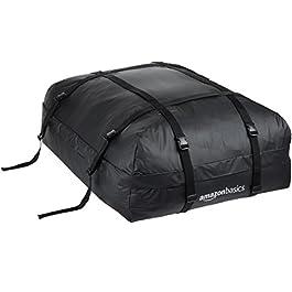 AmazonBasics – Borsa portatutto per tetto dell'auto, Nero, 425 L