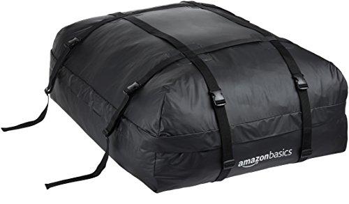 AmazonBasics -Portaeqiupajes baca, Negro, 425 L
