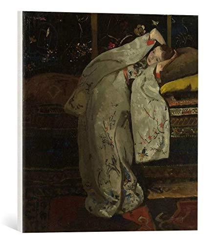 kunst für alle Leinwandbild: Georg-Hendrik Breitner Girl in a White Kimono 1894