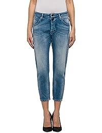 Replay Damen Boyfriend Jeans Pilar Ankle Zip