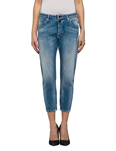 Replay Damen Boyfriend Jeans Pilar Ankle Zip