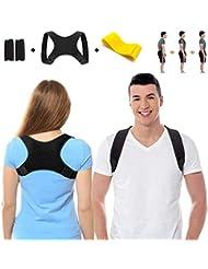 SYOSIN Geradehalter zur Haltungskorrektur, Haltungstrainer Rückentrainer Schulter Rücken Rückenstütze Corrector Posture für Damen Herren und Kinder