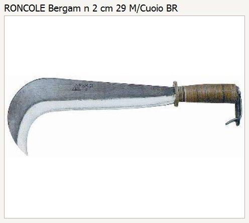 RONCOLA BERGAMO N.2 cm.29 M/co CUOIO RINALDI [RINALDI ]