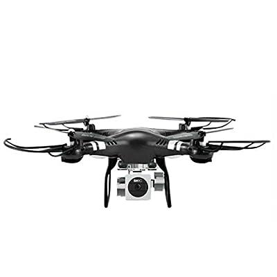 Hahuha RC Quadcopter 1080P Wide Angle Lens 270 Degree Rotating HD Camera Drone FPV , Adult Christmas Gift