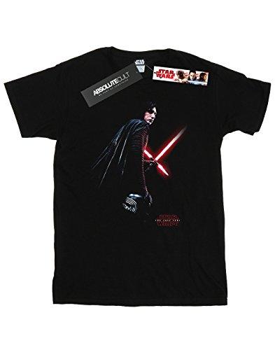 Star Wars Herren The Last Jedi Kylo Ren Shadow T-Shirt Schwarz