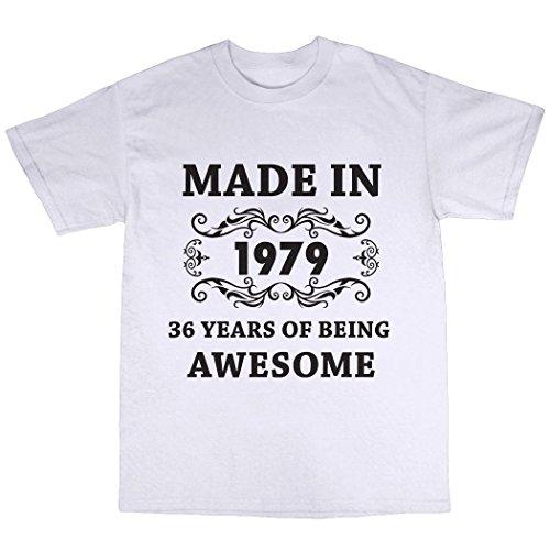 Made in 1979 T-Shirt Weiã£Ã¿