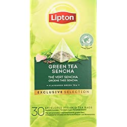 Lipton grüner Tee Sencha Pyramid, 1er Pack (1 x 54 g)