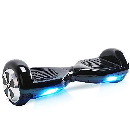 BEBK Hoverboard 6.5' Smart Self Balance Scooter Elettrico Autobilanciato con LED, 2 * 350W Motore