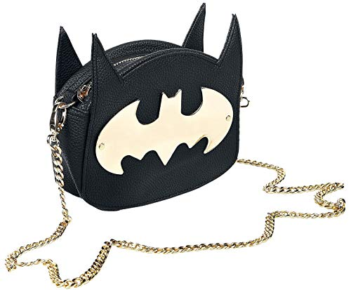 Batman Logo Handtasche schwarz