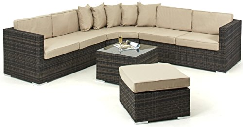 Maze-Rattan-Barcelona-Corner-Group-with-Luxury-Inset-Ice-Bucket-Coffee-Table-in-a-Weave