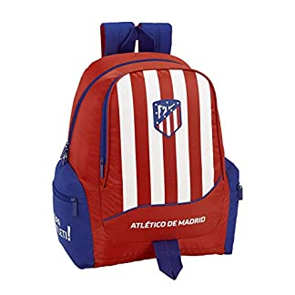 41VuNWXmsHL. SS324  - Atlético de Madrid Mochila Grande Adaptable a Carro, niño