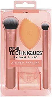 REAL TECHNIQUES By Sam & Nic Ultimate Base Set For Foundation + Concealer, 1