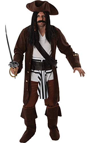 Fancy Dress Kostüm Pirate - ORION COSTUMES Adult Men's Pirate Fancy Dress Costume