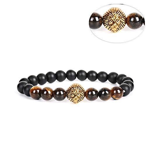 LSTC Yoga-Armband Armband Lava-Armband Steinperlen Armband Schmuck Gliederkette Mann Charms Armreif Armband 1