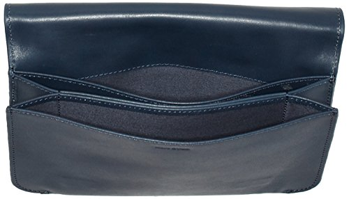Marc O'Polo Damen Fiftyfour Umhängetasche, 4x17x25 cm Blau (Night Blue)
