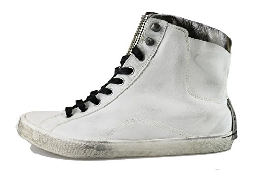 CRIME sneakers donna bianco pelle AH904 (40 EU)