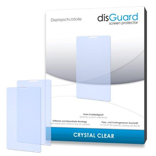 disGuard® Bildschirmschutzfolie [Crystal Clear] kompatibel mit Sony Xperia E1 [4 Stück] Kristallklar, Transparent, Unsichtbar, Extrem Kratzfest, Anti-Fingerabdruck - Panzerglas Folie, Schutzfolie
