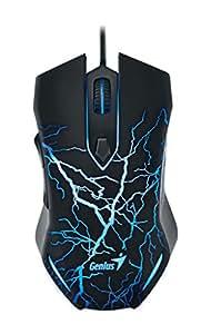 Genius 31040001100 Noir, Bleu USB