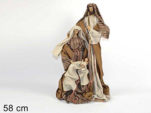 Set Krippenfiguren '58cm, Figuren Hohe Qualität' Kleidung Stoff für Hotel, Salz Ereignisse Kirchen, Krippen ausstellungsflächen
