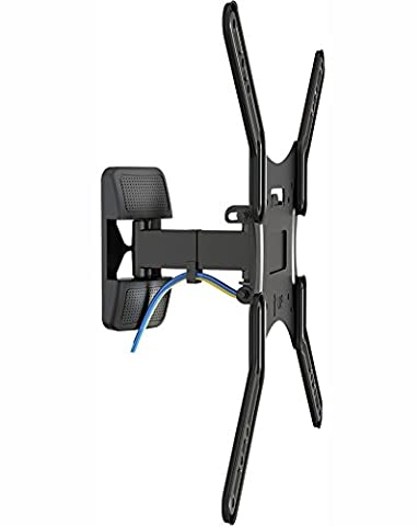 Invision® TV Wall Mount Bracket with Tilt and Swivel For 19 - 47 Inch LED, LCD & Plasma Screens, Max VESA 400 *Please Check Your TV VESA Mounting Holes Before Purchase* (HDTV-S)